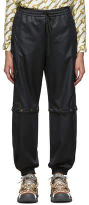 Gucci Black Convertible Cargo Lounge Pants