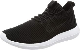 Nike Women's Roshe Two Flyknit V2 Black/Anthracite/Black/White Running Shoe 6 Women US