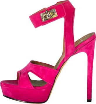 Givenchy Suede Sharlock Platform Shoe