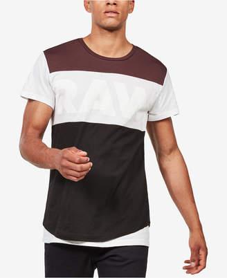 G Star Men's Starkon Colorblock T-Shirt, Created for Macy's