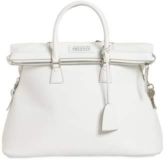 Maison Margiela Medium 5ac Leather Top Handle Bag