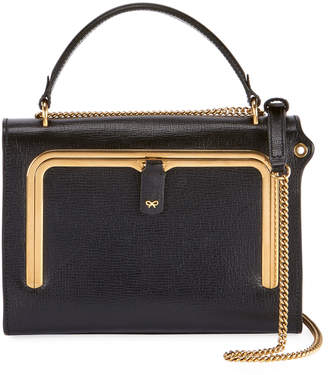 Anya Hindmarch Postbox Small Grain Top Handle Bag
