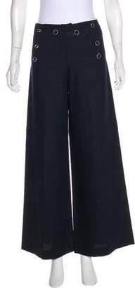 Jean Paul Gaultier High-Rise Linen Pants