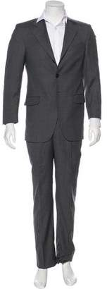 Fendi Striped Wool Suit