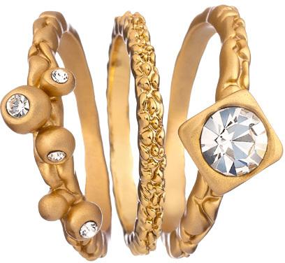 Andrew Hamilton Crawford Slender Stackable Rings