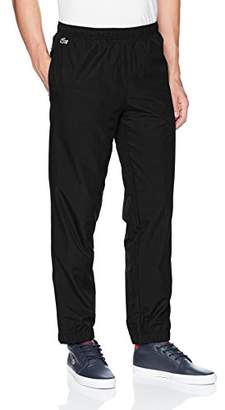 Lacoste Men's Taffetas Diamante Pant with Side Stripe