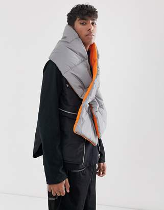 7x SVNX reflective puffer scarf