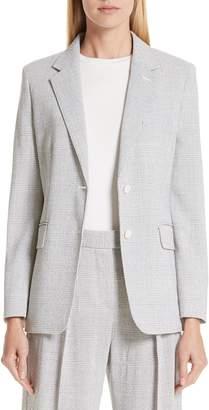 Max Mara Kent Glen Plaid Wool Jacket