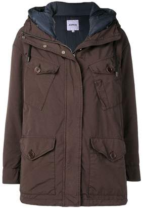 Aspesi hooded coat