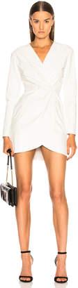 Sablyn Giada Leather Wrap Dress