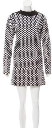 Marni Long Sleeve Mini Dress