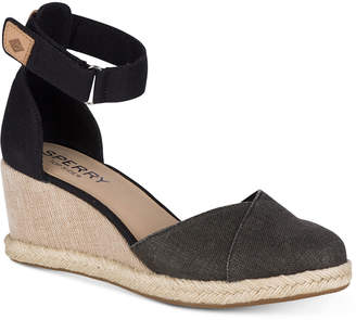 Sperry Women's Valencia Platform Espadrille Wedge Sandals