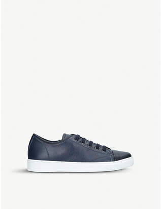 Lanvin Cap-toe leather trainers