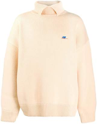 Ader Error boxy fit ribbed sweater