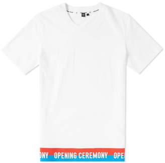 Opening Ceremony Tape Logo Tee