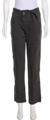 Etoile Isabel Marant Linen-Blend High-Rise Pants w/Tags w/ Tags