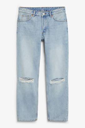 Monki Mokonoki distressed jeans
