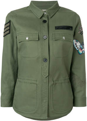 Zadig & Voltaire embroidered military jacket