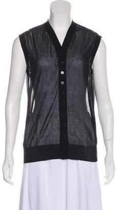Dolce & Gabbana Button-Up Sweater Vest