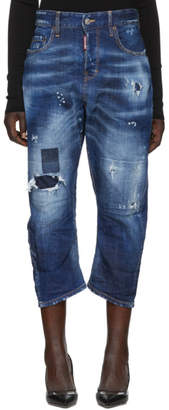 DSQUARED2 Blue Kawaii Jeans