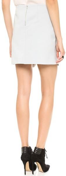 Dion Lee Saddle Envelope Miniskirt