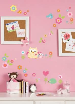 Kids Line Dena Happi Tree Wall Decals, Pink