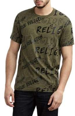 True Religion Logo Mania T-Shirt