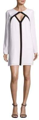 BCBGMAXAZRIA Cut-Out Shift Dress