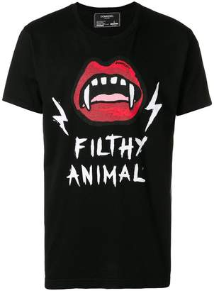 Dom Rebel Mouth print T-shirt