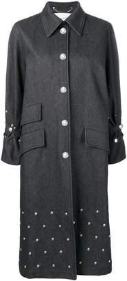 Sonia Rykiel studded midi coat