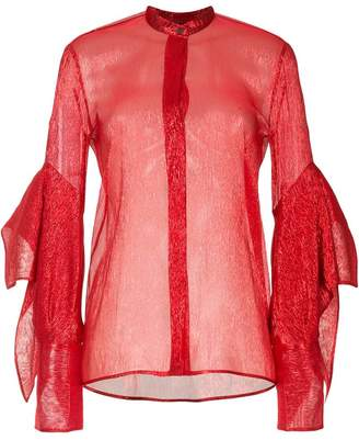 Petar Petrov sheer blouse