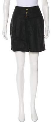 Tory Burch Linen Mini Skirt