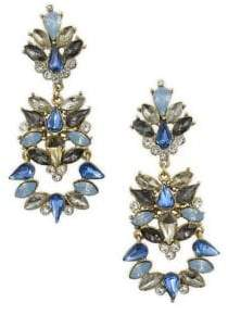 Badgley Mischka Belle by Blue Sky Crystal Statement Earrings