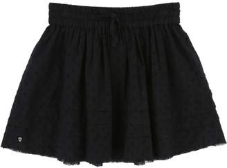 Zadig & Voltaire Sale - Isabelle Dobby Spot Lined Skirt