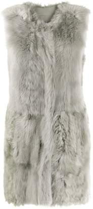 Drome faux-fur vest