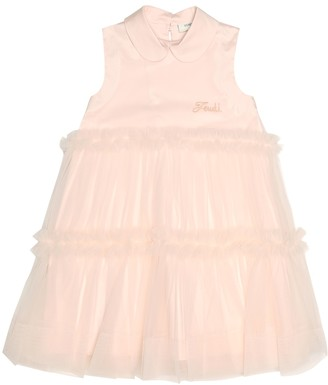 Fendi Cotton tulle dress