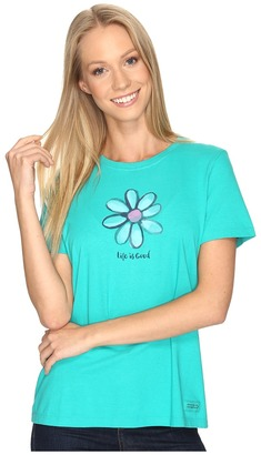 Life is good Daisy Crusher Tee $26 thestylecure.com