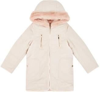 Chloé Reversible Faux Fur Quilted Coat