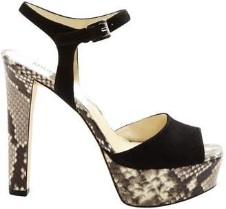 MICHAEL Michael Kors Black Suede Sandals