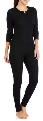 Fruit of the Loom Women's Waffle Thermal Underwear Union Suit