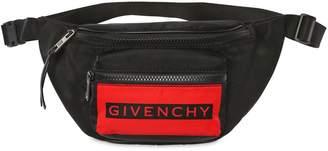 Givenchy Logo Nylon Belt Pack