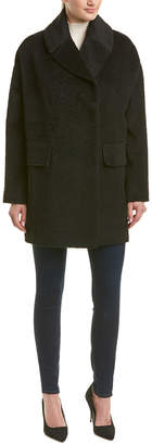 Trina Turk Ruby Wool & Alpaca-Blend Coat