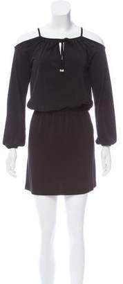 MICHAEL Michael Kors Cold-Shoulder Mini Dress w/ Tags