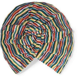 Missoni Crochet-knit Turban - Red