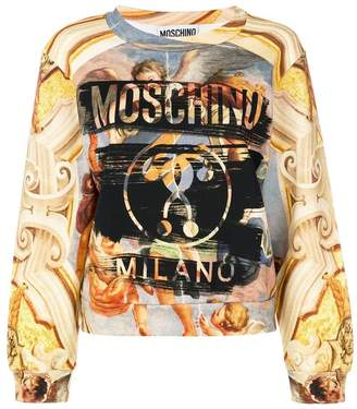 Moschino Fresco print sweatshirt