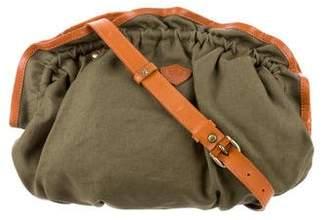 Cosmic Wonder Light Source Leather-Trim Crossbody Bag