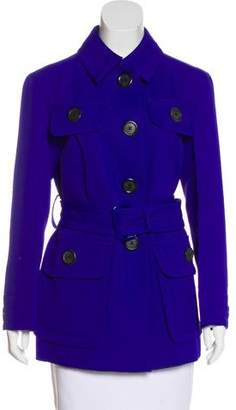 Marc Jacobs Short Button-Up Coat