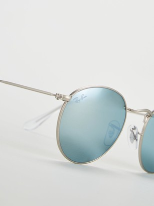 Ray-Ban Round Mirror Lens Sunglasses