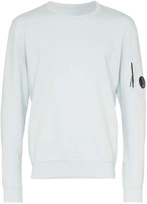 C.P. Company lens detail sleeve fleece sweatshirt