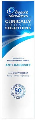Head & Shoulders Clinically Proven Solutions Anti-Dandruff Shampoo 250ml